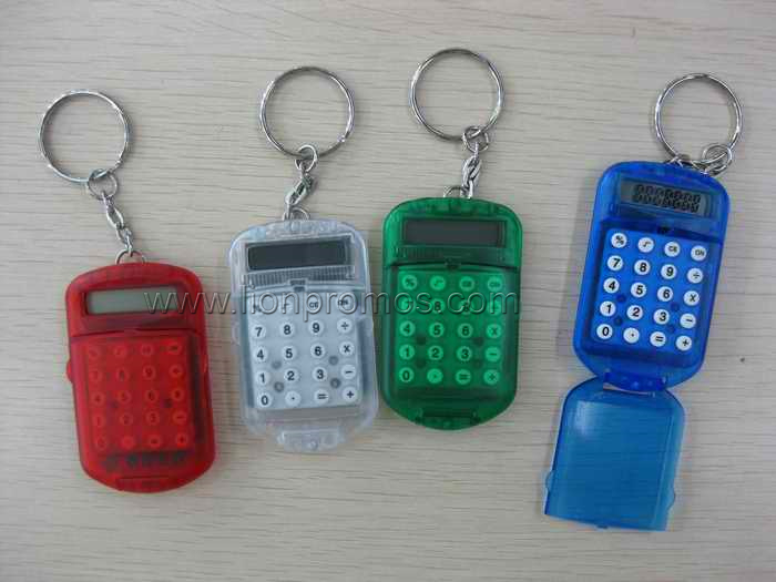 Trade Show Events Promotional Giveaways Mini Key Chain Calculator