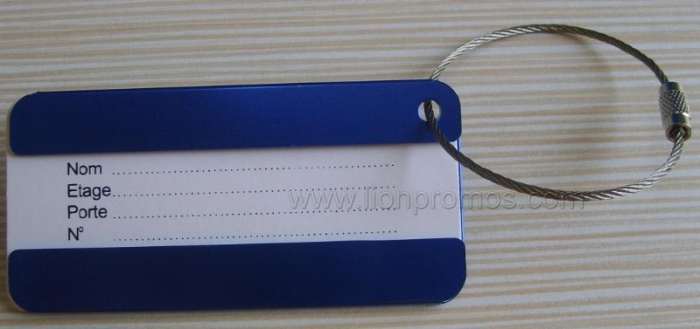Aluminum Alloy Luggage Tag