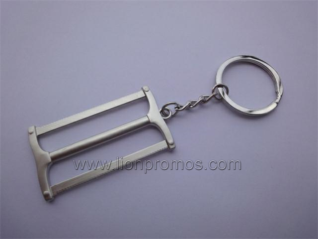 Metal Tool Model Shape Keyring