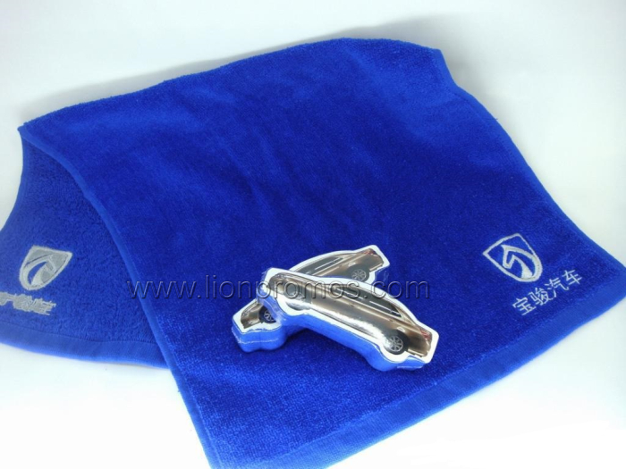 Custom Shape Car Promotional Gift Compressed Towel