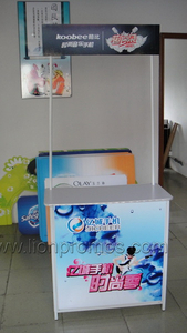 Custom Printing Supermarket Shop Retails Promotion Desk