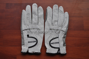 RIOH Logo Cabretta Leather Golf Glove