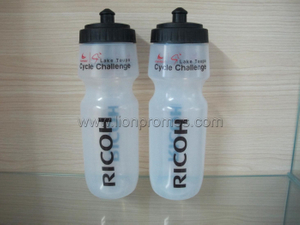 RICOH Cycle Challenge Game Souvenir Plastic Sports Bottle