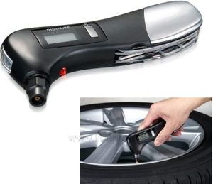 LCD Digital Screen Tyre Pressure Gauge Multi Functions Tool Set