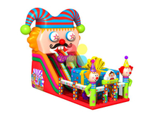 RB6099(9x5.5m)Inflatable giant clown slide for children and adult