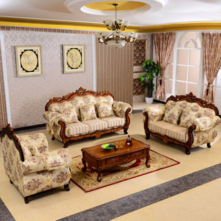 929K Fabric Sofa with Cabinet Set for Living Room Furniture