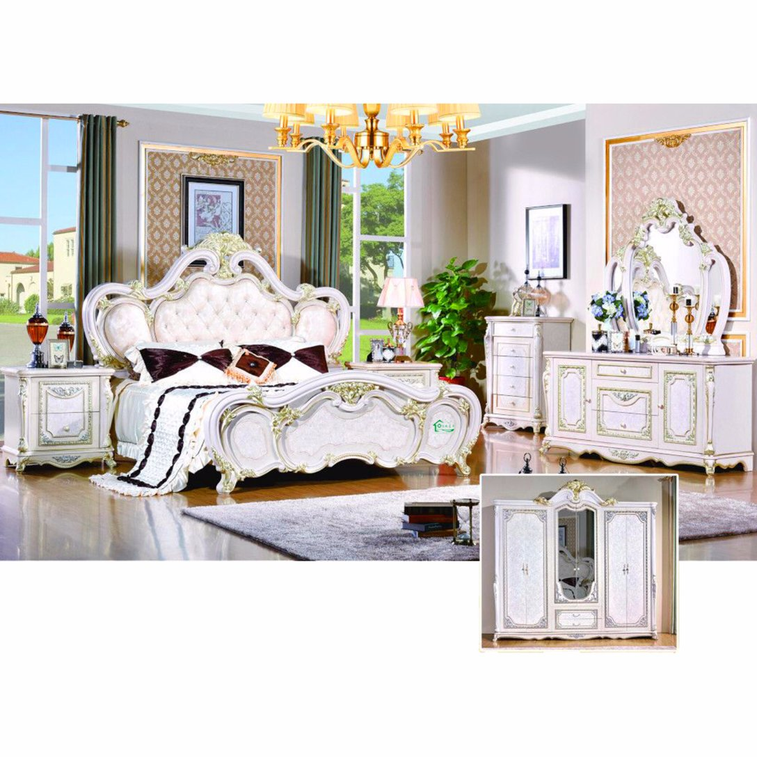 W815a Bed For Antique Bedroom Furniture Set And Home