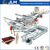 Jinlun Vertical and Horizontal Trimming Saw with Adjustable Size for Plywood