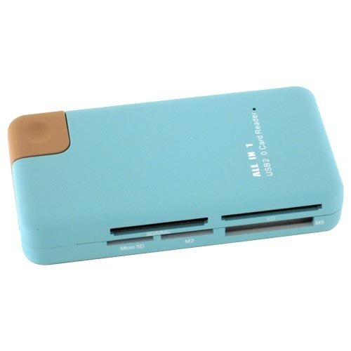 85 in 1 Card Reader with Embedded Cable Style No. CR-048