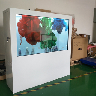 Dedi 49inch Transparent Showcase Box Video Ad Player TFT LED Screen LCD Advertising Display