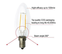 3W, 5W-Filament-LED-Candle-Bulb
