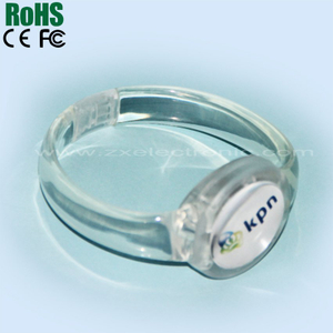 Light up bangle Beautiful Night LED Bracelet, Flash Concert Bracelet
