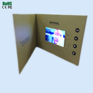 Voice recording greeting card custom design invitation wedding cards