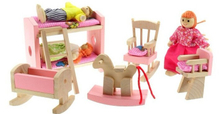 wooden doll house furnitures