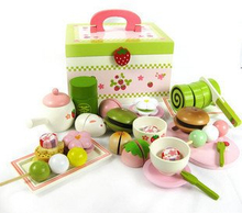 Children Wooden Food Toys