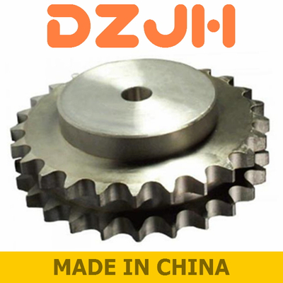 Duplex chain sprockets