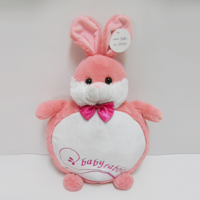 Hot Sale Plush Stuffed Baby Rabbit Pillow