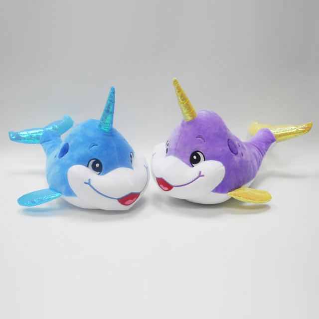 Soft Baby Cute Dolphin Plush Stuffed Toys And Dolls