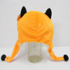 Soft Plush Toy Fox Winter Hat for Kids