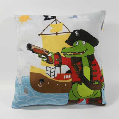 Custom Factory OEM Soft Plush Crocodile Pillow