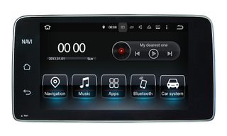 "9""Benz A/G/CLA/GLA (NTG4.5/4.7) Android8.0 Car Dvd Players DAB+/OBD/DVD"