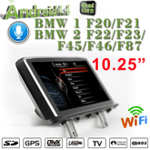 "10.25""Anti-Glare Bmw 1er 2er F20 F22 NBT Android Car Stereo 3G Internet Gps Navigation"