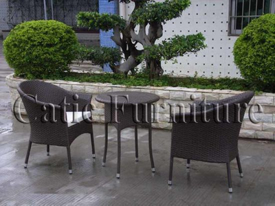 Rattan Outdoor Furniture Set with Lounger (GS187)