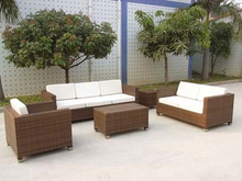 Outdoor Sofa PE Ratan Furniture Whoelsae