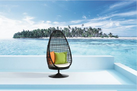 Garden Wicker/Rattan Swing for Outdoor Furniture
