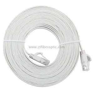 Cat6 RJ45 Flat UTP Copper Patch Cord Cable Pass Fluke Test