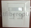 Factory Price 1/2/3/4 Ports RJ45 CAT5E CAT6 Networking Faceplate