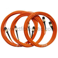 Mulitmode MPO Duplex Fiber Optic Patch Cord