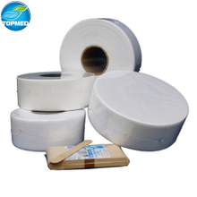 Disposable Spunlace hair removal waxing depilation rolls depilating strips in roll for beauty care