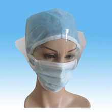 Disposable Dental Face Mask with Shield Nonwoven Anti-fog Face Masks