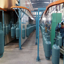 Powder Coating Line for 12.5kg/15kg LPG Gas Cylinder Manufacturing Equipments