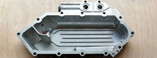 Weichai Engine Spare Parts 612630010072 Oil Cooler Cover for Wheel Loader