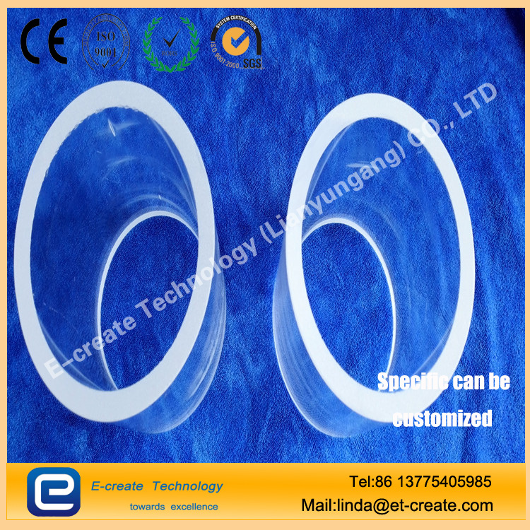 High purity quartz tube,High transmittance quartz tube,High - pressure quartz tube