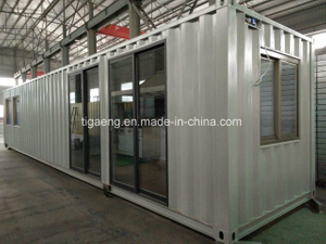 EPS, Rockwool Sandwich Panel Prefab 20FT 40FT Container House