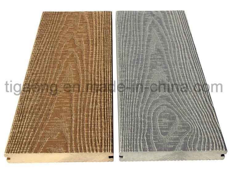 Recyclable Termite Proof & Mouldy Proof Wood Plastic Composite WPC Decking