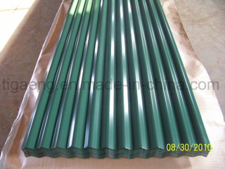 Simple Construction Factory Price PPGI Steel Roofing Sheet