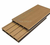 Wood HDPE Composite Decking Floors/WPC Outerior Decorative Boards