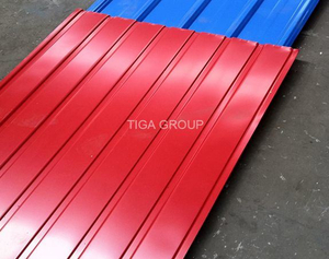 Easy Installation Steel Plate Metal Roofing Prepainted Galvanized Roof Tile