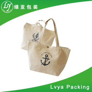 natural cotton gym bag
