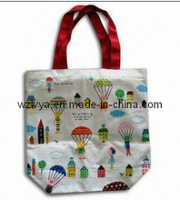 PP Woven Gift Bag with Green Printing (LYG03)