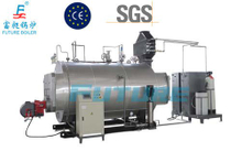 Horizontal Chamber Combustion Steam Boiler