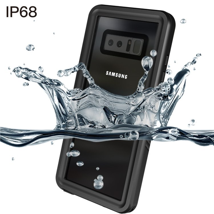 Mobile Phone Accessories Full Cover Waterproof Case for Samsung Note8