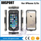 Transparent Protective Mobile Phone Cover Waterproof Case for iPhone 5/5s