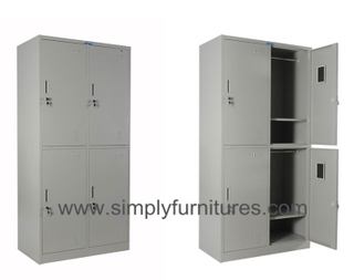 4 doors steel armoire