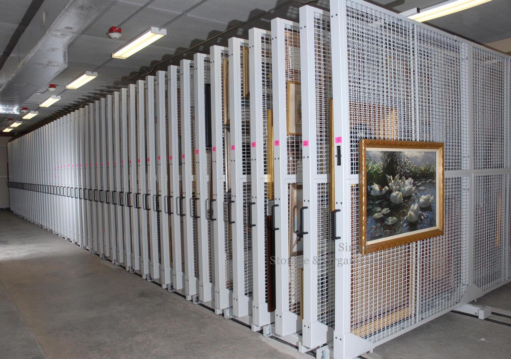 Art Museum Storage racking
