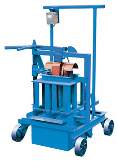 Ponte d'oeufs Block Making Machine de QM40A Mobile